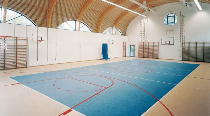 Sportovní haly podlaha foto