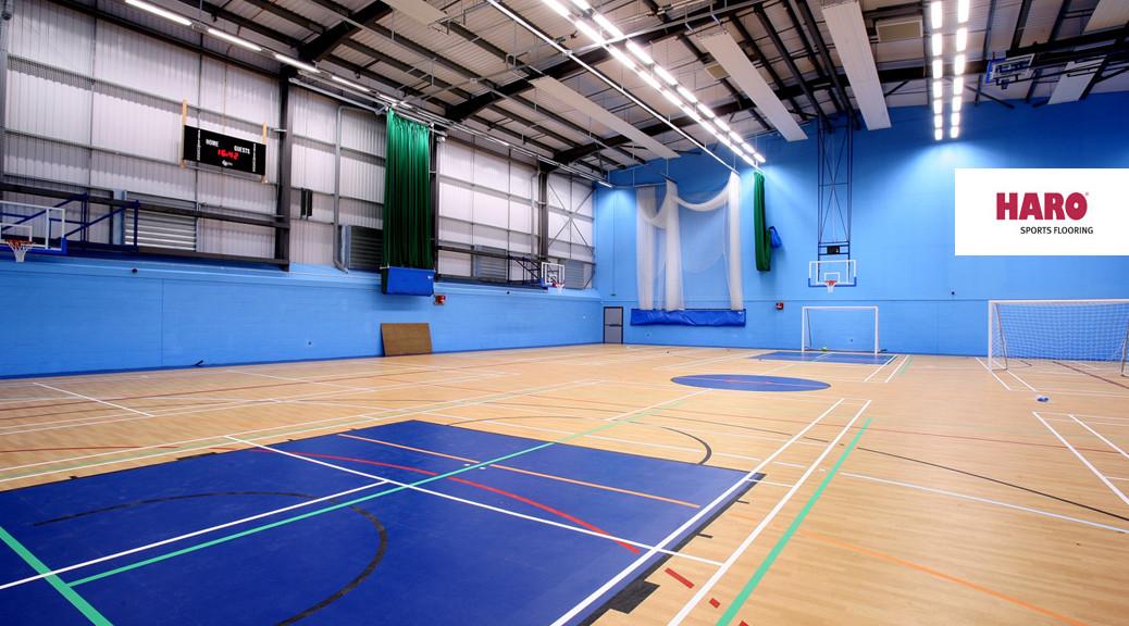 Sportovní haly podlaha foto-HARO